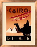 Cairo by Air Art by Brian James