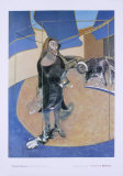 Portrait Isabal Rawsthorne, 1967 Collectable Print by Francis Bacon
