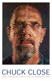 Self-Portrait, 2000-2001 Affischer av Chuck Close