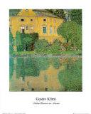 Schloss Kammer at Attersee Prints by Gustav Klimt