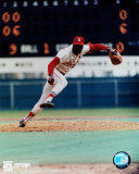 Bob Gibson - Pitching action Photo