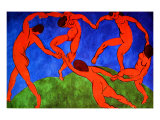 Dance, 1912 Giclée-trykk av Henri Matisse