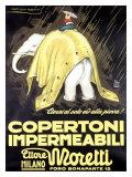 Copertoni Impermeabili Moretti Giclee Print by Achille Luciano Mauzan