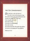 The Ten Commandments Prints