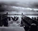 The Morning of June 6, 1944 (D-Day) at Omaha Beach Photo