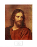 Christ at Thirty-Three Plakater af Heinrich Hofmann