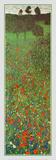 Mohnblumenfeld Kunst von Gustav Klimt