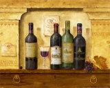 Weinsammlung II Kunstdrucke von G.p. Mepas