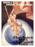 El Frente Popular de Madrid Giclee Print