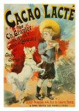 Cacao Lacte Prints by Lucien Lefevre