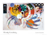 Courbe dominante (1936) Affiches par Wassily Kandinsky
