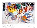 Curva dominante, 1936 Lámina por Wassily Kandinsky