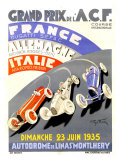 Grand Prix de l&#39;A.C.F., 1935 Giclee Print by Geo Ham