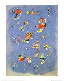 空の青 1940 アート : ワシリー・カンディンスキー