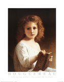 The Story Book Poster by William Adolphe Bouguereau