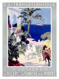 C.G. Transatlantique Giclee Print