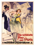 Die Schonste Frau Von Paris Giclee Print by W. Dietrich