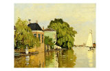 Landscape at Zaandam IV Giclee Print by Claude Monet