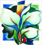 Calla Lilies Grande Prints by Alfred Gockel