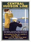 Central Hudson Line Giclee Print