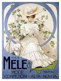 E&A Mele, Mode Confezioni Giclee Print