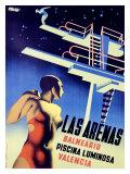 Las Arenas Impression giclée par Josep Renau Montoro
