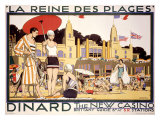 La Reine des Plages, Dinard Giclee Print