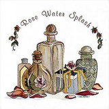 Rose Water Splash Posters by Carol Robinson