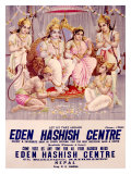 Eden Hashish Centre Giclee Print by Ramesh Sharma