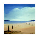 Along the Beach II Posters av Hans Paus