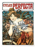 Cycles Perfecta Giclee Print by Alphonse Mucha