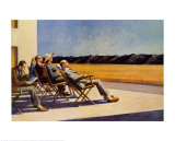 Gente al sol Psters por Edward Hopper