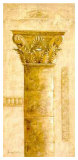 Sepia Column Study III Print by Javier Fuentes