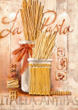 La Pasta Print by Sonia Svenson