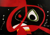 Kopf Print by Joan Miró