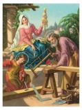 Heilige Familie Posters