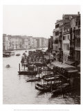 Array of Boats, Venice Print by Cyndi Schick