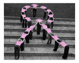 Brustkrebsvorsorge Fotodruck von Jessica A. Laike