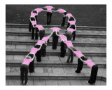 Breast Cancer Awareness Photographic Print by Jessica A. Laike