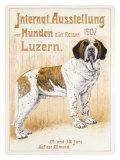 Austellung Von Hunden Giclee Print by H. C. Kaufmenn