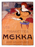 Cigarettes Mekka Giclee Print by Charles Loupot