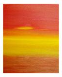 Surreal Sunset Giclée-tryk af Kenny Primmer