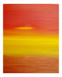 Surreal Sunset Lámina giclée por Kenny Primmer