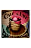 Cafe au Lait Giclee Print