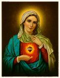 Sagrado Coração de Maria Pôsters