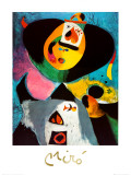 Portrait No. 1 Posters by Joan Mir&#243;
