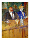 French Bar Giclee Print by Henri de Toulouse-Lautrec