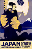Japanese Art Exhibit, c. 1909 Reproduction procédé giclée