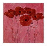 Red Poppies Posters by Teo Malinverni