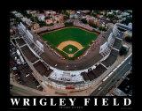Wrigley Field - Chicago, Illinois Plakaty autor Mike Smith